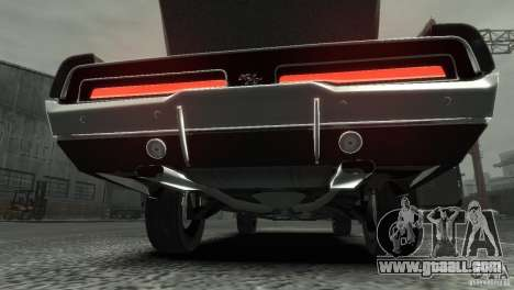 Dodge Charger RT 1969 Tun for GTA 4 inner view