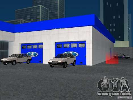 Auto VAZ for GTA San Andreas sixth screenshot