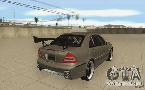 Mercedes-Benz C32 AMG Tuning for GTA San Andreas side view