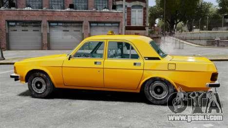 Gaz-3102 taxi for GTA 4 left view