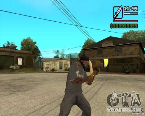 Prince's Knife for GTA San Andreas third screenshot