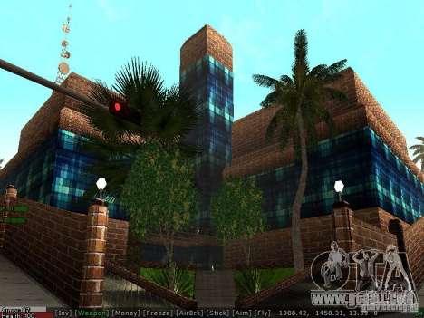 The new hospital in Los Santos for GTA San Andreas fifth screenshot