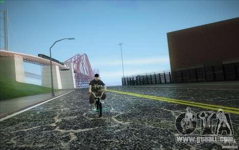 New roads San Fierro for GTA San Andreas fifth screenshot