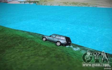 HD water for GTA San Andreas forth screenshot