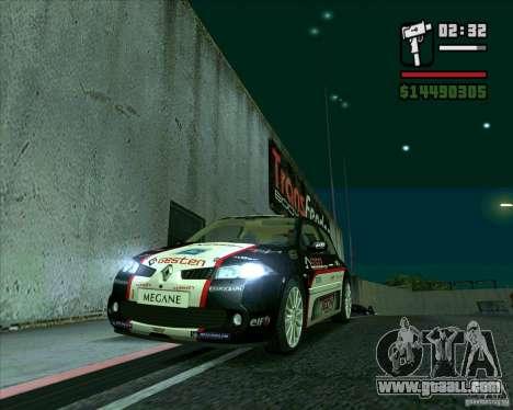 Renault Megane II RS for GTA San Andreas