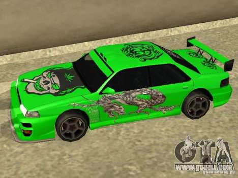 Vinyl for Sultan for GTA San Andreas left view