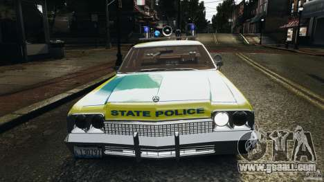 Dodge Monaco 1974 Police v1.0 [ELS] for GTA 4 engine