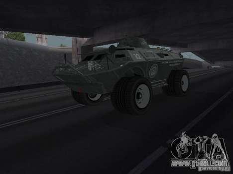 APC from GTA TBoGT IVF for GTA San Andreas
