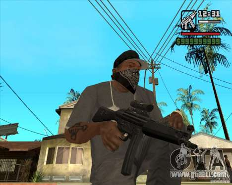 MP5 AGOG for GTA San Andreas