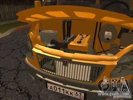 GAZ 22171 Sable for GTA San Andreas back view