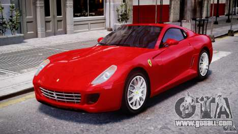 Ferrari 599 GTB Fiorano for GTA 4 left view