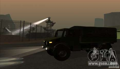 Mercedes-Benz Unimog for GTA San Andreas left view