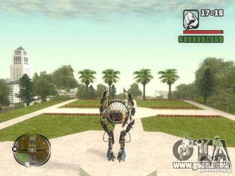 Robot from Portal 2 # 1 for GTA San Andreas third screenshot