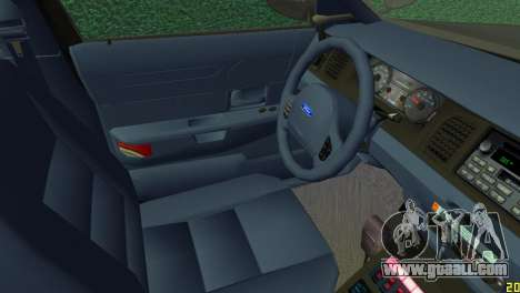 Ford Crown Victoria Police 2003 for GTA Vice City right view