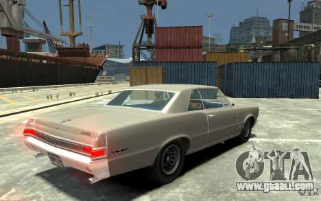 Pontiac GTO v1.1 for GTA 4 right view