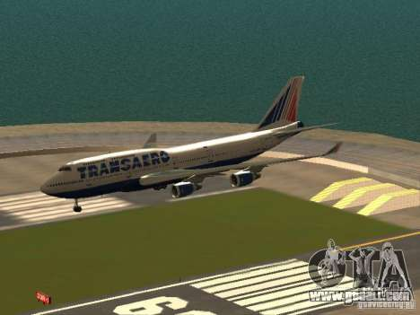 Boeing 747-400 for GTA San Andreas