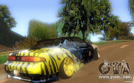 Nissan Silvia S14 zenki matt powers for GTA San Andreas right view