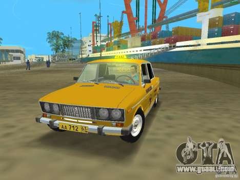 VAZ 2106 Taxi v 2.0 for GTA Vice City