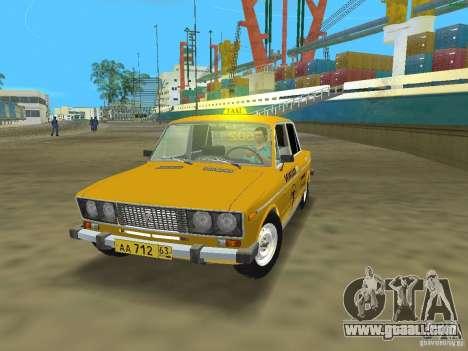 VAZ 2106 Taxi v 2.0 for GTA Vice City