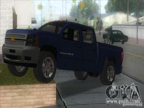 Chevrolet Silverado 1500 for GTA San Andreas