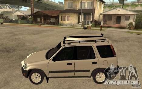 Honda CRV 1997 for GTA San Andreas left view