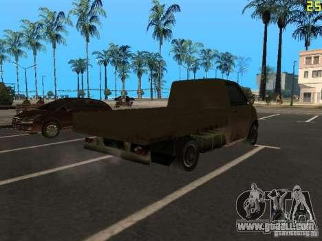 Moonbeam Pickup for GTA San Andreas back left view