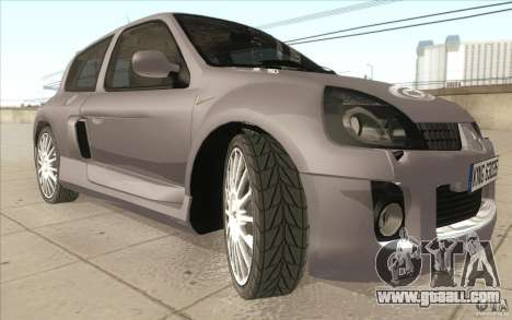Renault Clio V6 for GTA San Andreas upper view