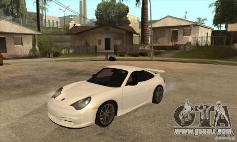 Porsche 911 GT3 (996) for GTA San Andreas