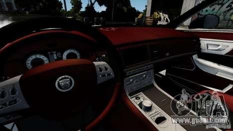 Jaguar XJ 2012 for GTA 4 side view
