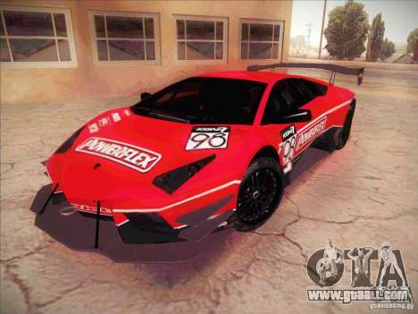 Lamborghini Reventon GT-R for GTA San Andreas side view