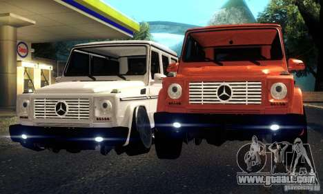 Mercedes-Benz G65 for GTA San Andreas back view