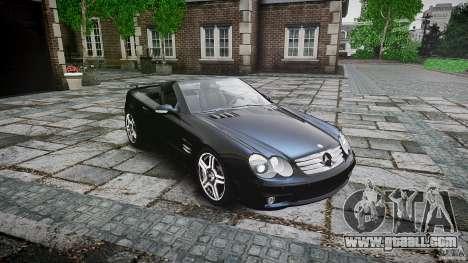 Mercedes Benz SL65 AMG for GTA 4