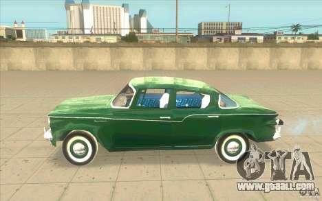 Studebaker Lark 1959 for GTA San Andreas left view