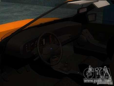Ford Sierra Mk1 Sedan for GTA San Andreas back view