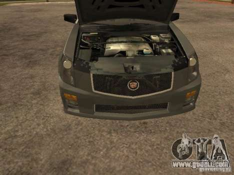 Cadillac CTS-V for GTA San Andreas right view