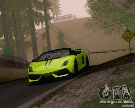 Lamborghini Gallardo LP570-4 Spyder Performante for GTA San Andreas
