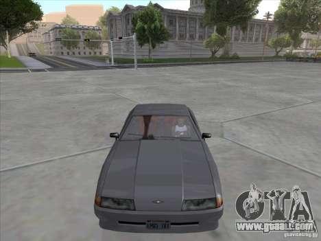 Elegy Full VT v1.2 for GTA San Andreas
