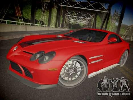 Mercedes-Benz SLR 722 Custom Edition for GTA San Andreas