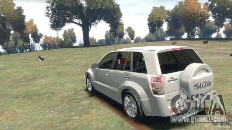 Suzuki Grand Vitara for GTA 4 right view