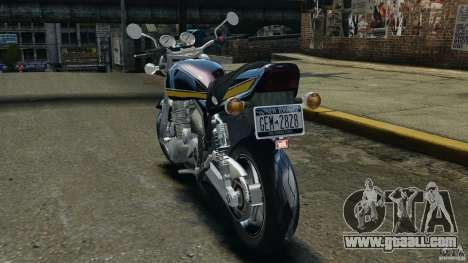 Kawasaki Zephyr for GTA 4 back left view