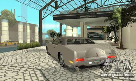 Lincoln Continental Mark IV 1972 for GTA San Andreas back left view