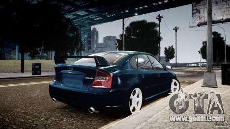 Subaru Legacy B4 GT for GTA 4 left view