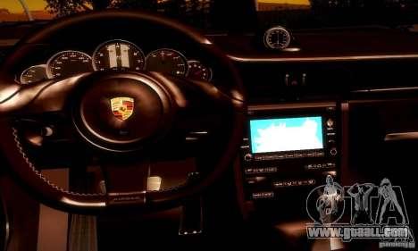 Porsche 911 Sport Classic for GTA San Andreas bottom view