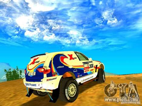 BMW X3 King Dessert for GTA San Andreas left view