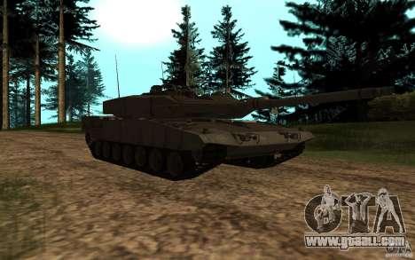 Leopard 2a7 for GTA San Andreas