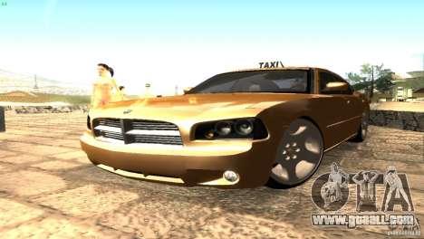 Dodge Charger SRT8 Re-Upload for GTA San Andreas back left view