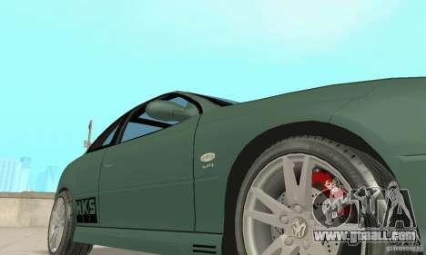 Vauxhall Monaro VXR Open SKY 2004 for GTA San Andreas upper view