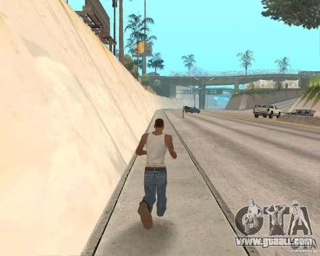 Sprint System v1.0 for GTA San Andreas second screenshot