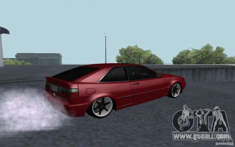 Volkswagen Corrado for GTA San Andreas left view