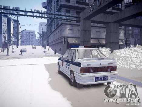 VAZ 2115 DPS for GTA 4 left view